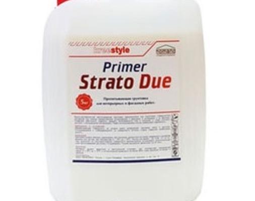 Пропитывающий грунт Strato Due