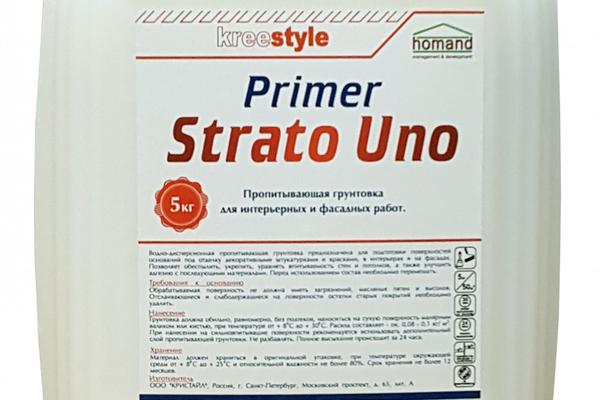 Пропитывающий грунт Strato Uno